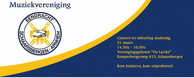 Concert ter afsluiting van de studiedag